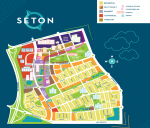 Seton Main Commercial Map